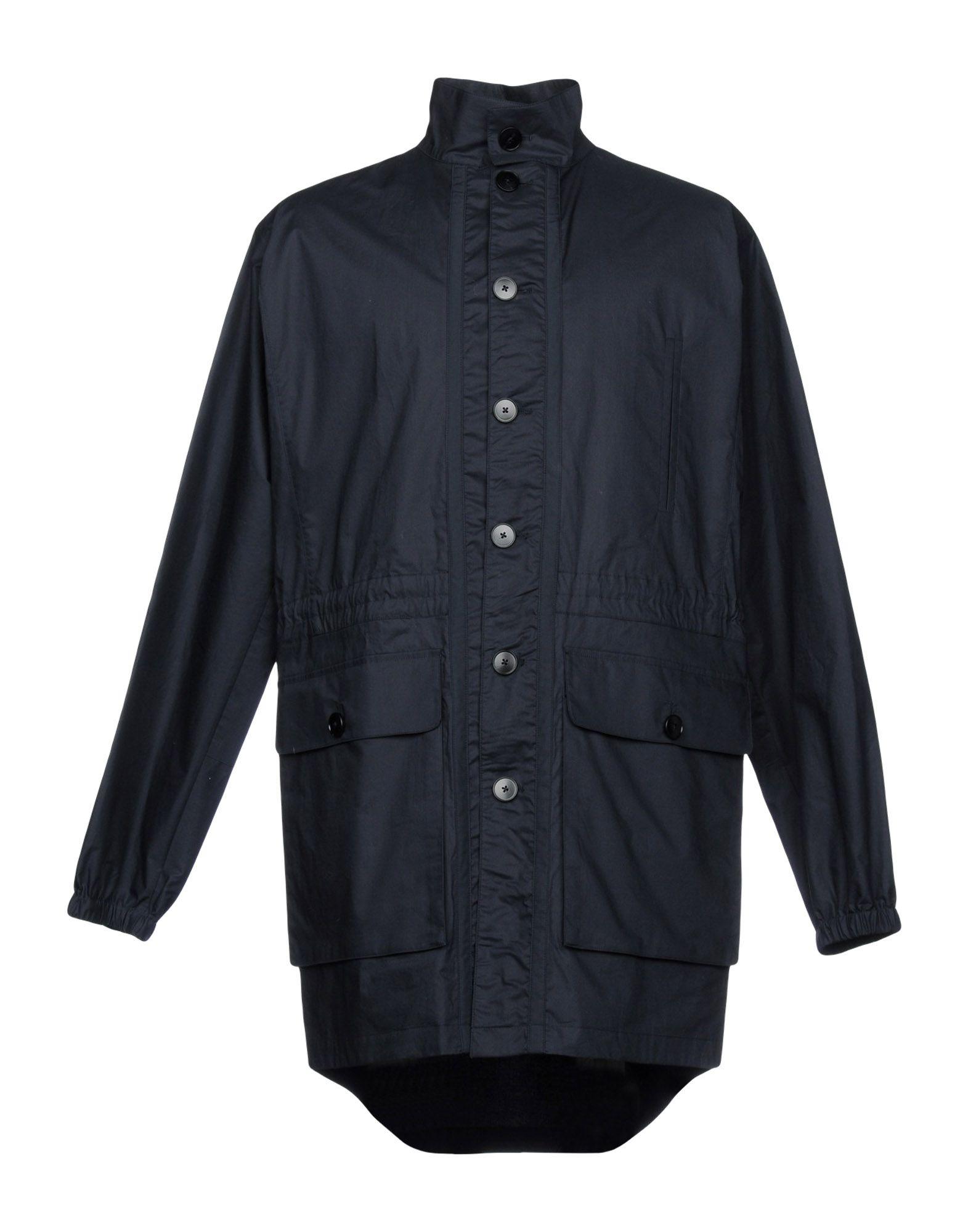 HELBERS Full-Length Jacket in Dark Blue
