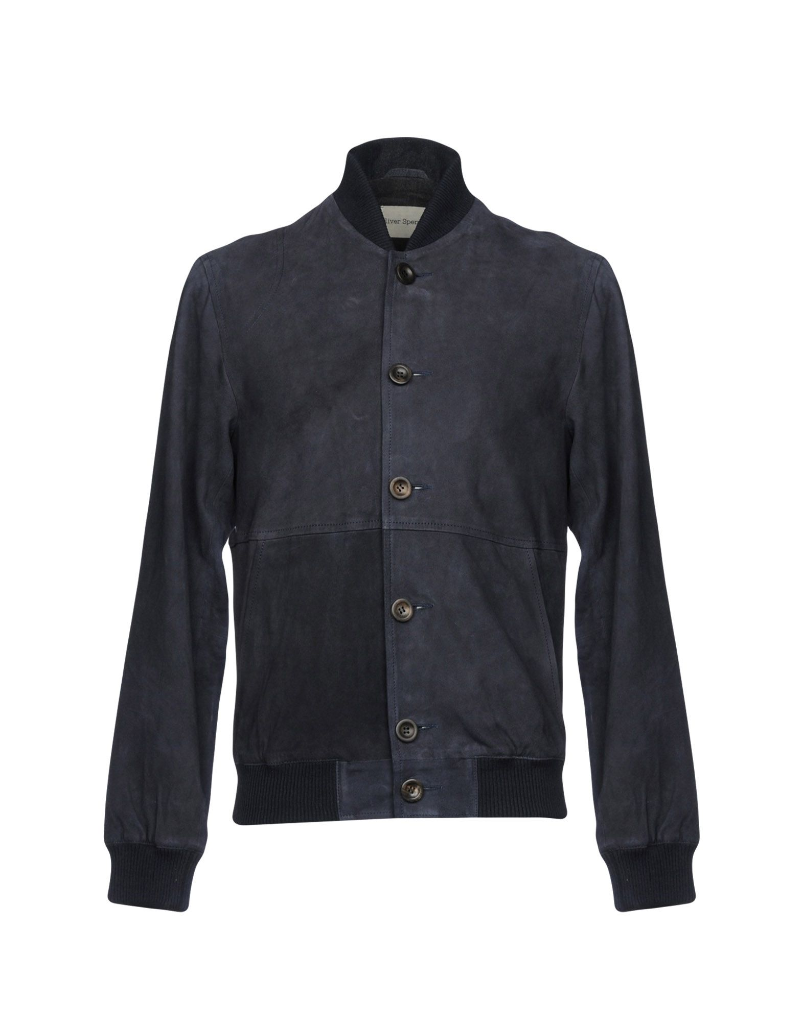 OLIVER SPENCER Куртка замшевая куртка