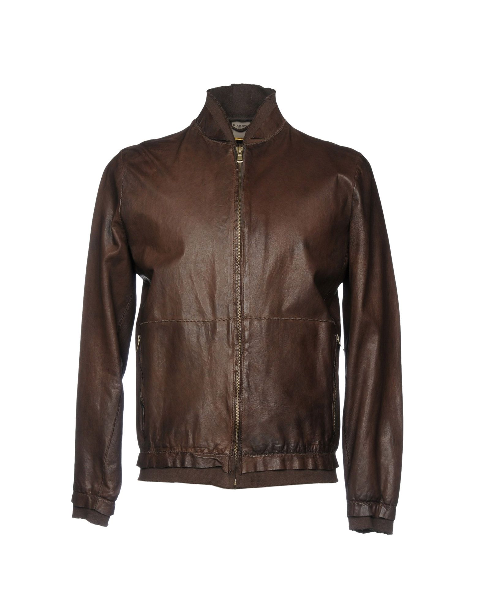 D'AMICO Jackets in Cocoa