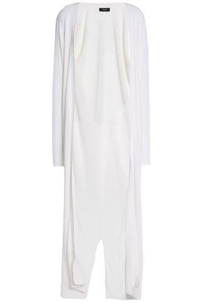 THEORY Slub linen-jersey cardigan