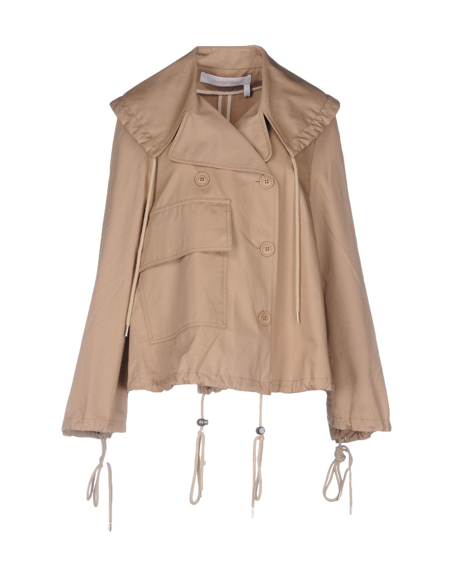 цена SEE BY CHLOÉ Легкое пальто онлайн в 2017 году