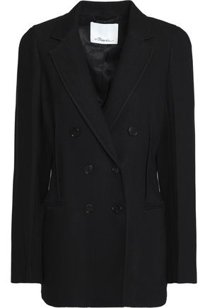 3.1 PHILLIP LIM Double-breasted crepe blazer