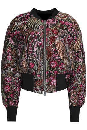 3.1 PHILLIP LIM Embroidered twill jacket