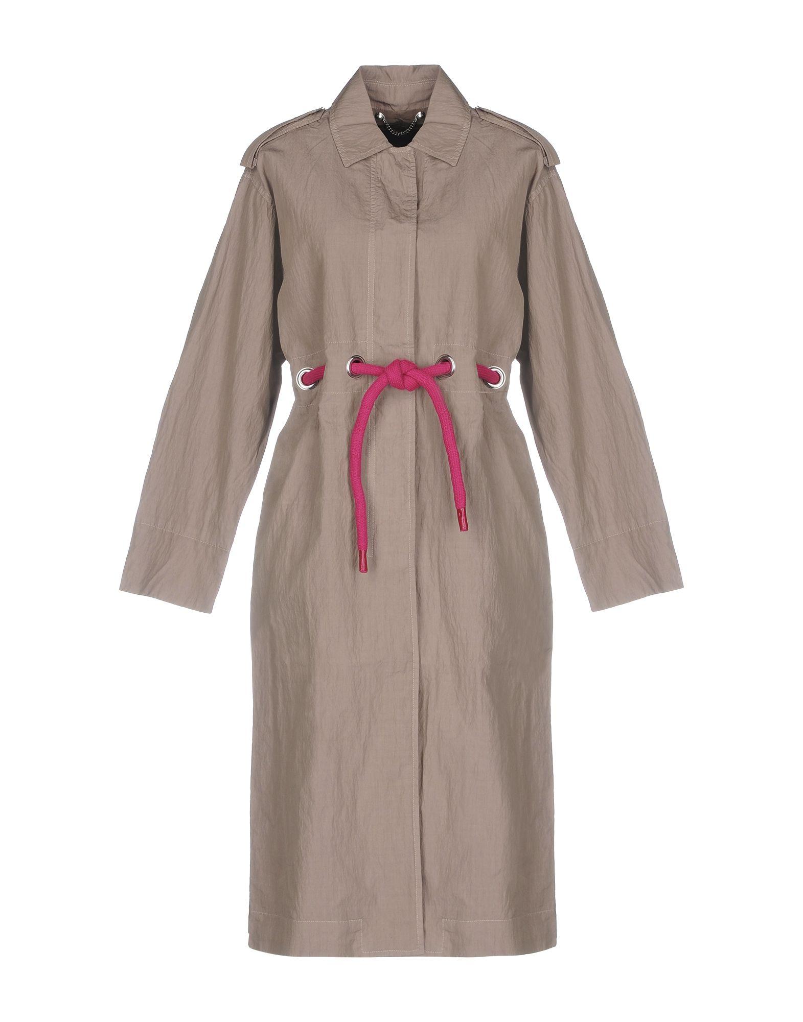 Belted Coats, Beige