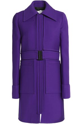 VICTORIA, VICTORIA BECKHAM Lace-up wool coat