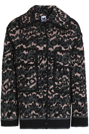 M MISSONI Metallic crochet-knit coat