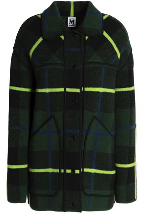 M MISSONI Checked wool coat
