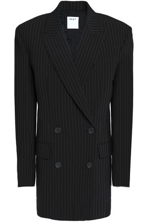 DKNY Double-breasted wool-blend blazer