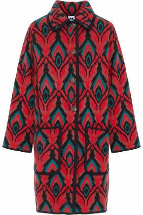 M MISSONI Metallic wool-blend jacquard coat