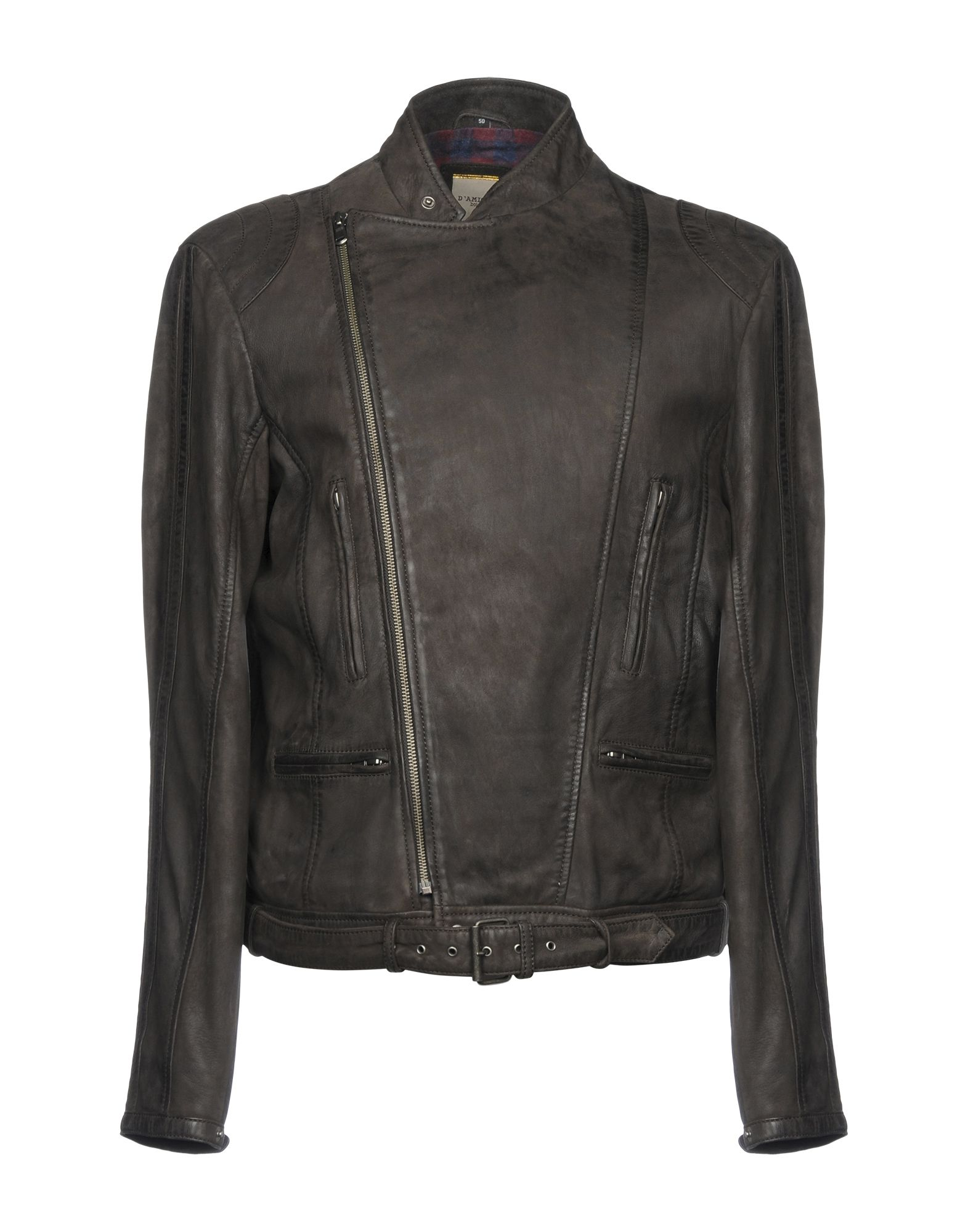 D'AMICO Jackets in Dark Brown
