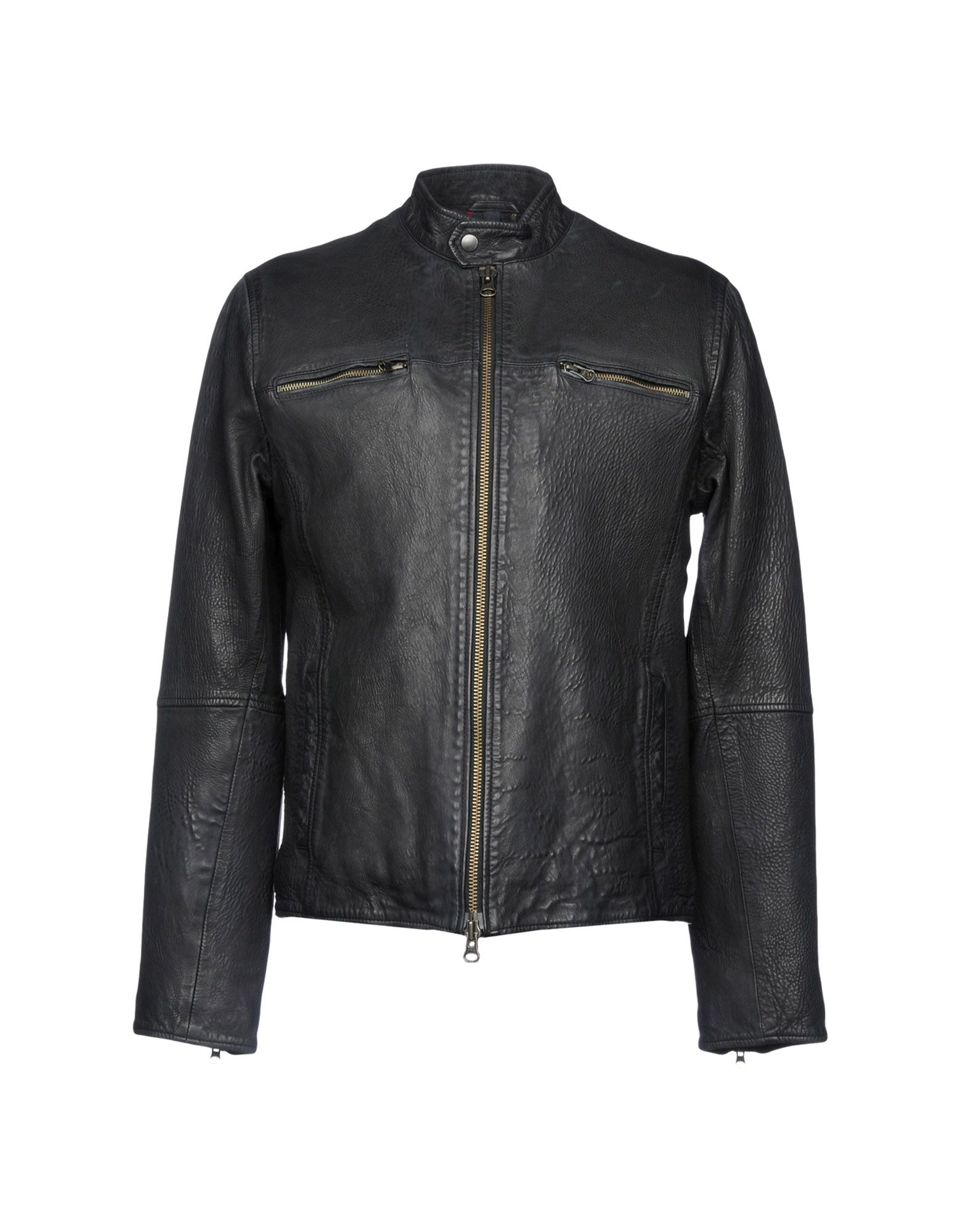 D'AMICO Jackets in Black