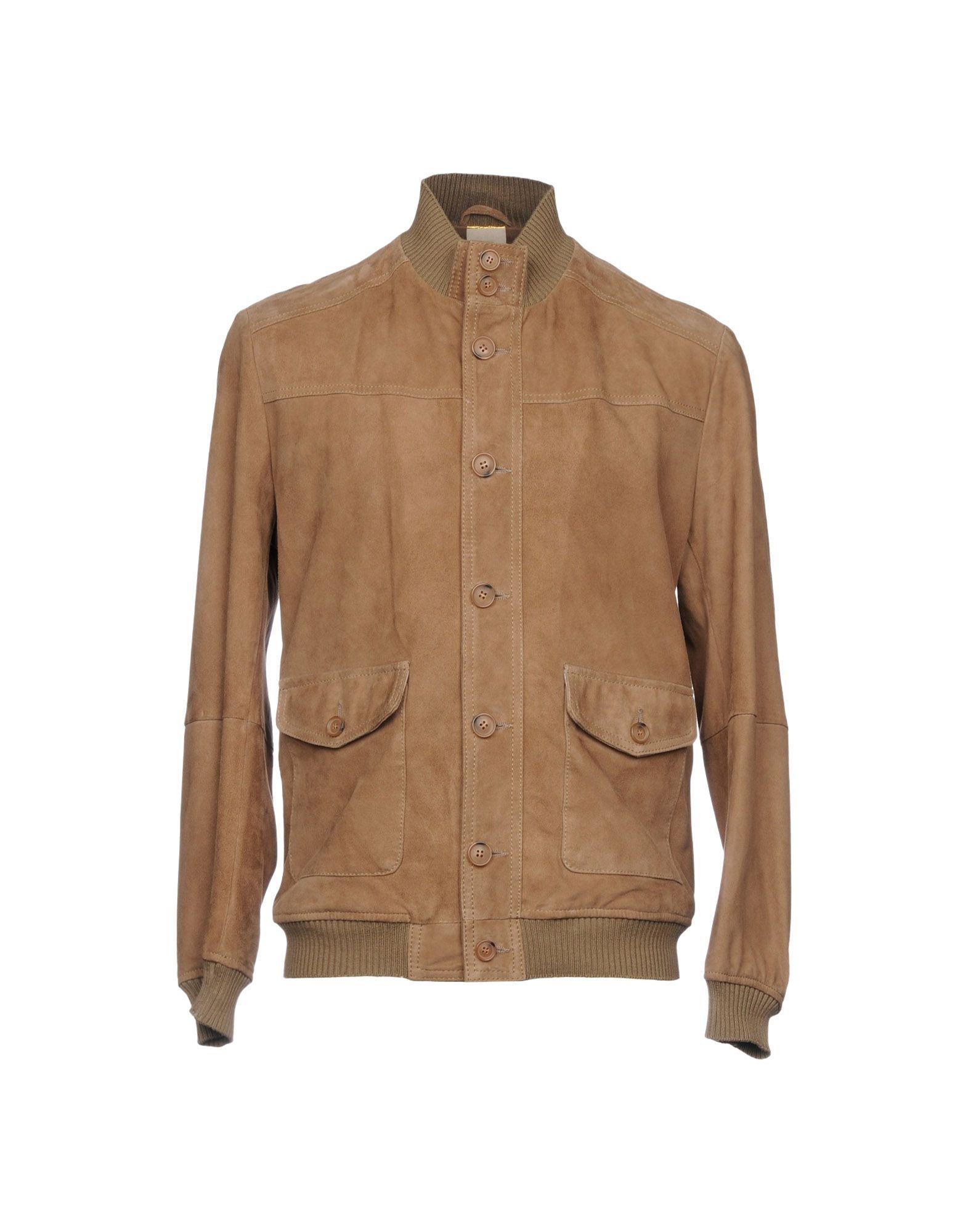 D'AMICO Куртка замшевая куртка