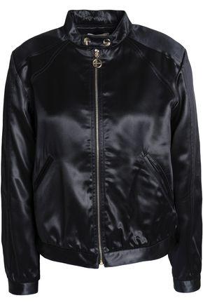 NINA RICCI Satin bomber jacket