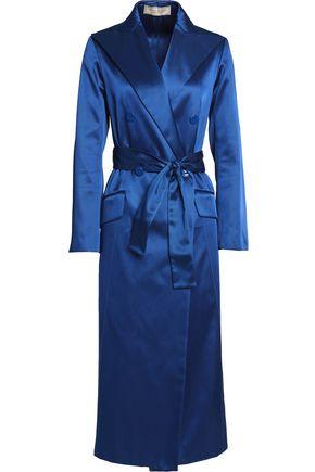 NINA RICCI Belted satin coat