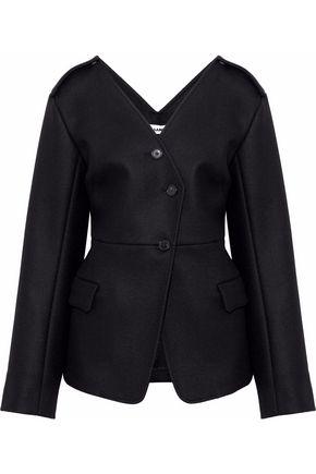 JIL SANDER Wool-blend felt jacket