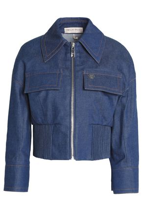 EMILIO PUCCI Cropped denim jacket