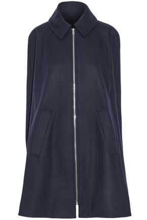 A.P.C. Brushed wool-blend felt cape