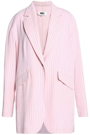 MM6 MAISON MARGIELA Pinstriped crepe blazer