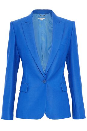 STELLA McCARTNEY Wool-piqué blazer
