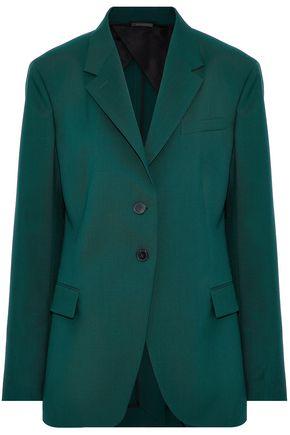 JIL SANDER Wool-twill blazer