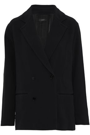 JOSEPH Double-breasted crepe blazer