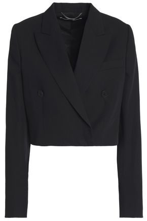 STELLA McCARTNEY Cropped wool blazer