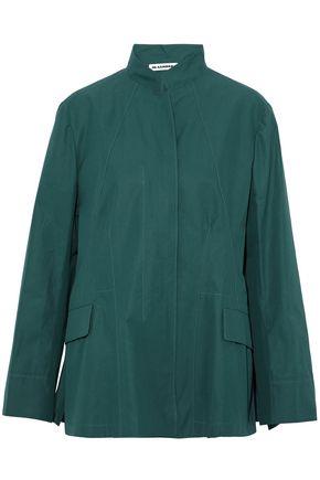 JIL SANDER Cotton-poplin jacket