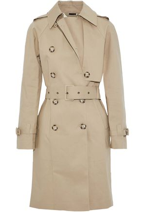 STELLA McCARTNEY Cotton-gabardine trench coat