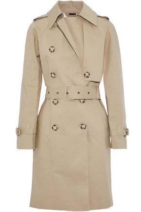 STELLA McCARTNEY Cotton-gabardine trench coat