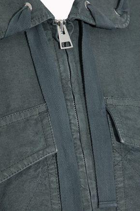 J.W.ANDERSON Lace-up cotton-canvas jacket