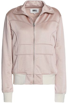 MM6 MAISON MARGIELA Rib-trimmed stretch-jersey jacket