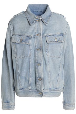 MM6 MAISON MARGIELA Distressed denim jacket