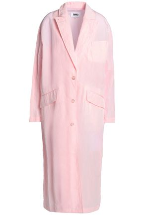 MM6 MAISON MARGIELA Brushed voile trench coat