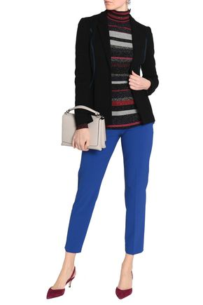 EMILIO PUCCI Embroidered ribbed-knit blazer