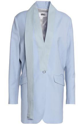 MM6 MAISON MARGIELA Grosgrain-trimmed virgin wool jacket