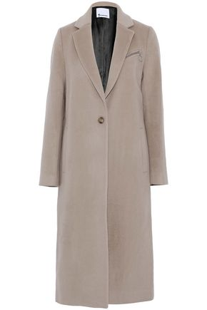 T by ALEXANDER WANG Wool and cashmere-blend felt coat