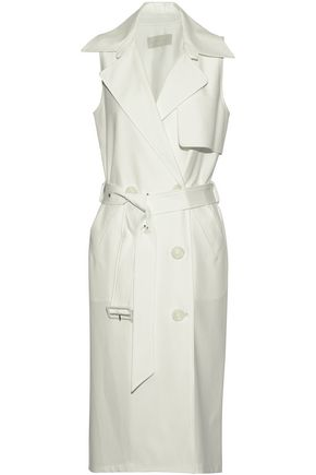 MICHELLE MASON Belted woven dress