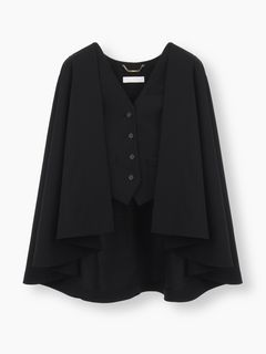 Cape with waistcoat