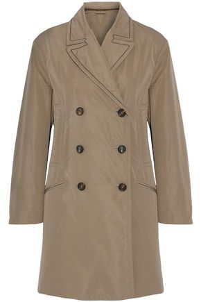 BRUNELLO CUCINELLI Shell trench coat