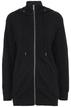 SPLENDID Cotton-terry hooded jacket