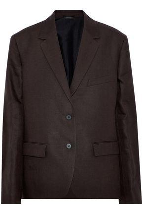 JIL SANDER Linen-twill blazer