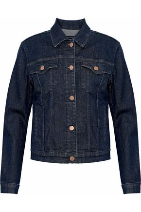 WOMAN DENIM JACKET DARK DENIM