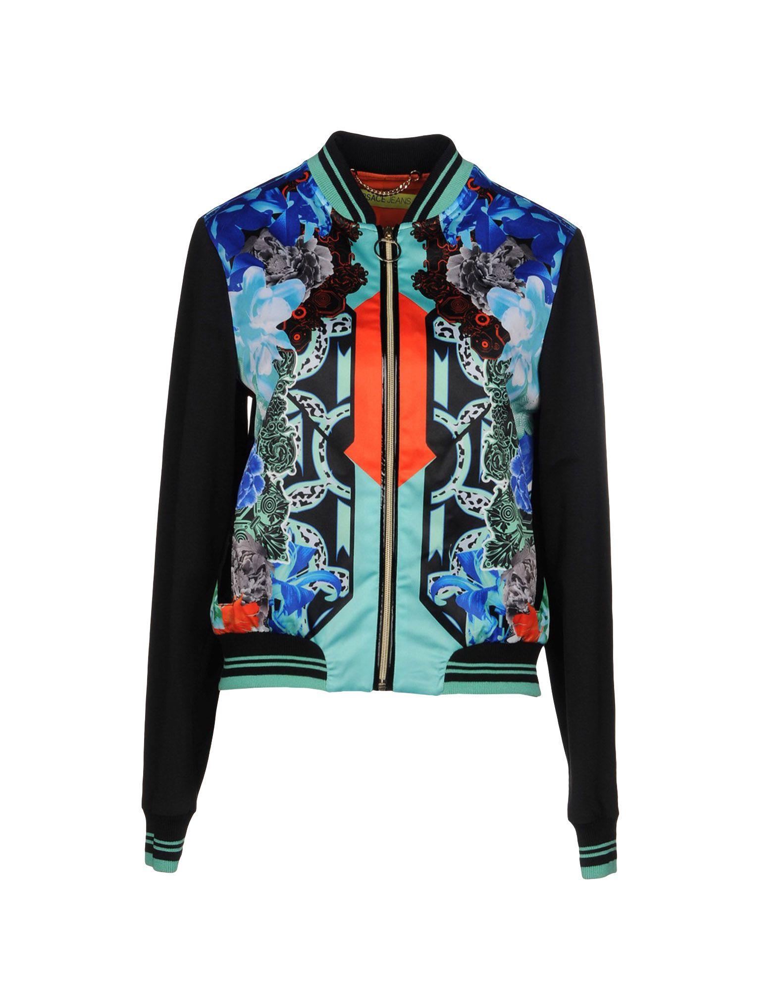цена VERSACE JEANS Куртка онлайн в 2017 году