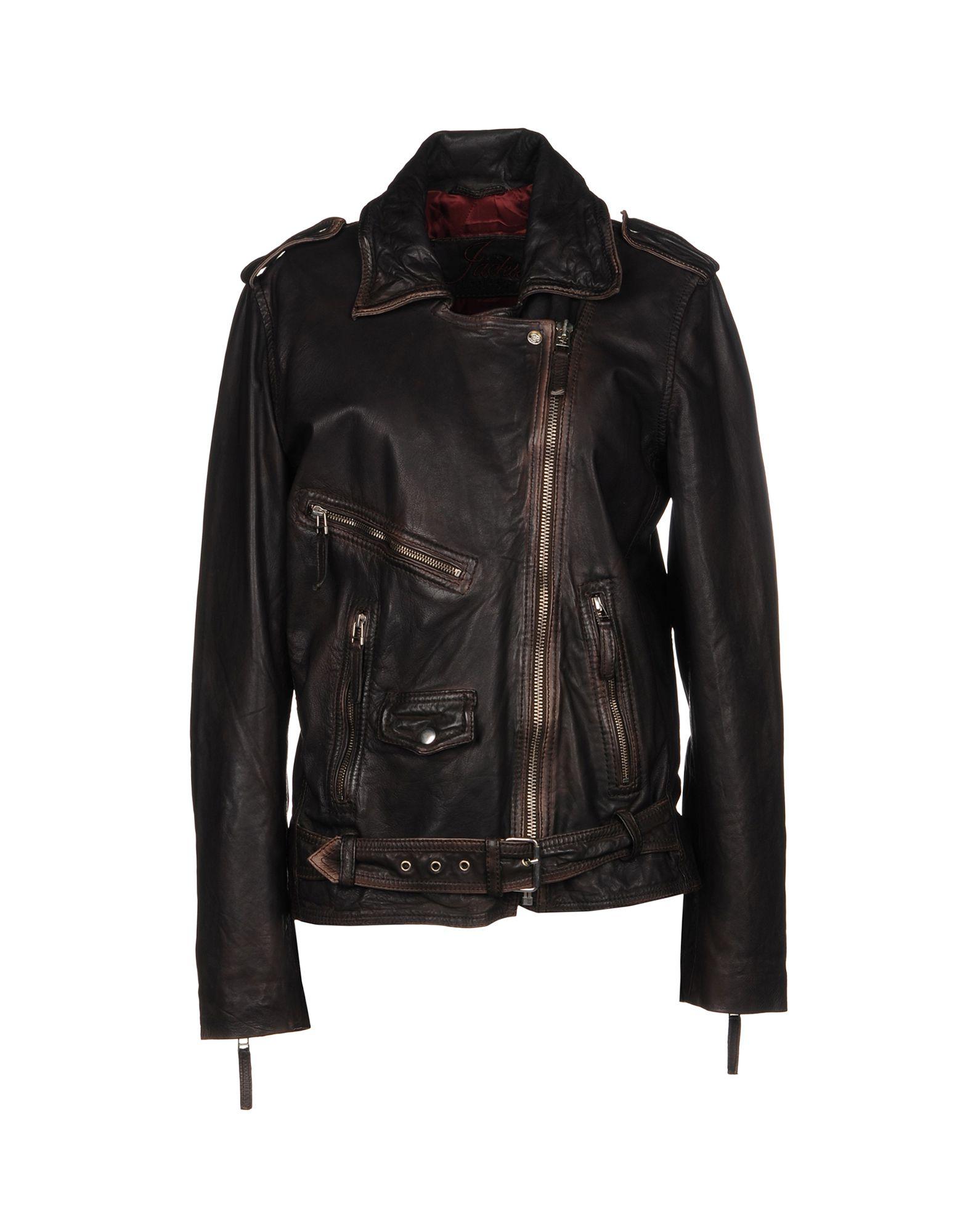 где купить THE JACKIE LEATHERS Куртка дешево