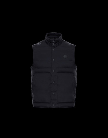 MERAK Black Category Waistcoats Man