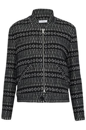 IRO Cotton-blend tweed jacket
