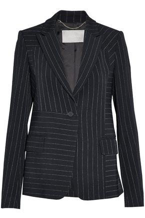 JASON WU Pinstriped twill blazer