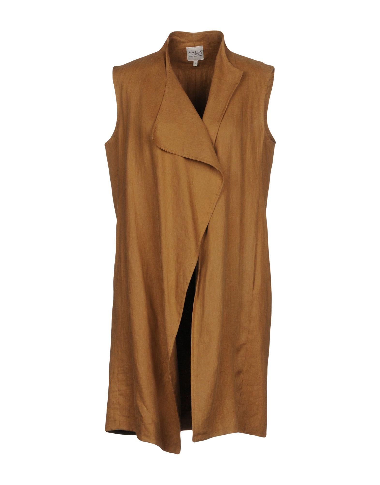 PAUW Full-Length Jacket in Camel