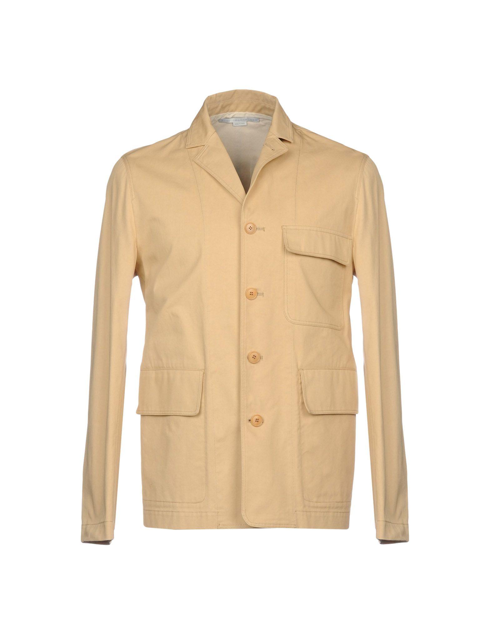 《セール開催中》STELLA McCARTNEY MEN メンズ テーラードジャケット サンド 48 コットン 100%