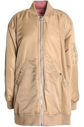 OPENING CEREMONY Reversible shell bomber jacket